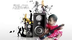 Joget Tak Tun Tuang Versi Tom & baby Raesha Belum Mandi