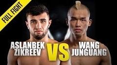 Aslanbek Zikreev vs. Wang Junguang   ONE Championship Full Fight
