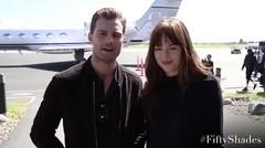 Jamie Dornan & Dakota Johnson Memberi Pesan untuk Penggemar