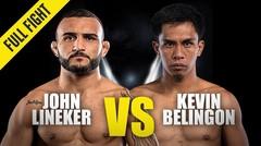 John Lineker vs. Kevin Belingon   ONE Championship Full Fight