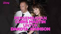 Chris Martin Persembahkan My Universe untuk Dakota Johnson