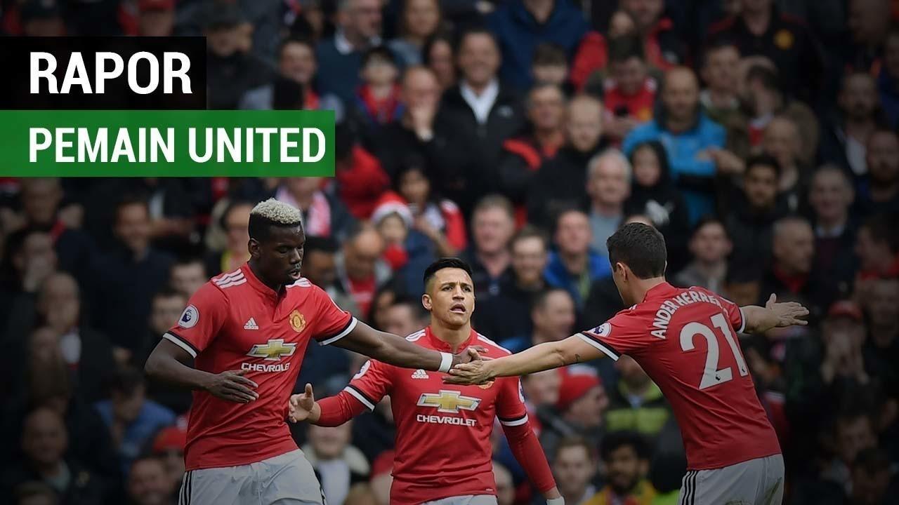 Rapor Pemain Manchester United Saat Taklukkan Arsenal