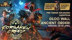 Elite Pass Samurai Terkeren! Forsaken Creed - Pre Order Sekarang!