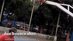 BASKETBALL Trick shots _ udang pistol