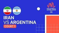 Full Match   VNL MEN'S - Iran vs Argentina   Volleyball Nations League 2021