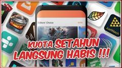 HATI HATI!! Inilah 5 Aplikasi Yang Bikin Kuota Cepat Habis!!