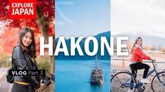 3 HARI GAK CUKUP!! GUNUNG FUJI, RUMAH NOBITA, BAJAK LAUT di HAKONE - Vlog Part 3