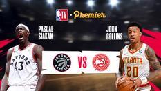Toronto Raptors vs Atlanta Hawks - 21 Jan 2020   02:30 WIB