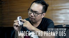 TODAYS GEAR - MOOER MICRO PREAMP 005 by Gitaragam