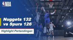 Match Highlight | Denver Nuggets 132 vs 126 San Antonio Spurs | NBA Regular Season 2019/20