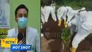 Petugas Pemakaman Pasien Covid-19 Menggunakan Tangan Kosong Kuburkan Jenazah - Hot Shot