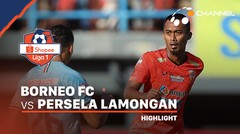 Highlights - Borneo FC 2 vs 1 Persela Lamongan | Shopee Liga 1 2020