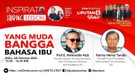 Live Streaming Inspirato Sharing Session Yang Muda Bangga Bahasa Ibu