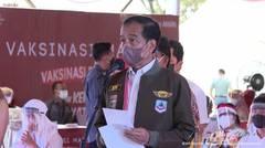 Dialog Presiden Joko Widodo Saat Tinjau Vaksinasi Covid-19, Banjarmasin, 21 Oktober 2021