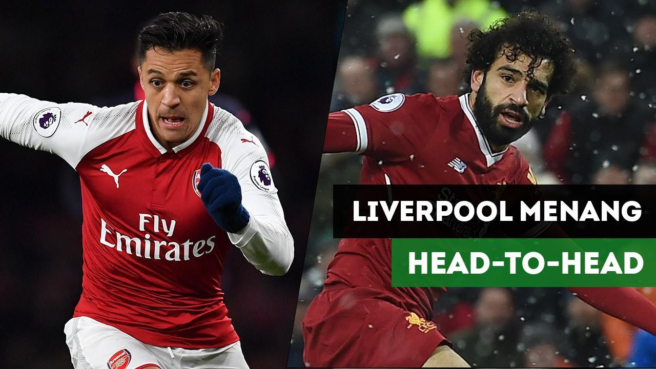 Catatan Statisik Jelang Arsenal Vs Liverpool