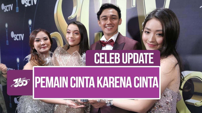 Celeb Update Cinta Karena Cinta Jadi Sinetron Paling Ngetop Sctv Awards 2019