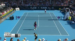 Match Highlight | Serena Williams 2 vs 0 Amanda Anisimova | WTA Auckland International 2020