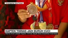 Kapten Timnas Jadi Buruh Cuci - AAS News TV