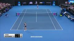 Match Highlight | Karolina Pliskova 2 vs 1 Naomi Osaka | WTA Brisbane International 2020