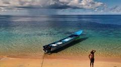 Naik Susi Air ke Banda Neira Maluku.