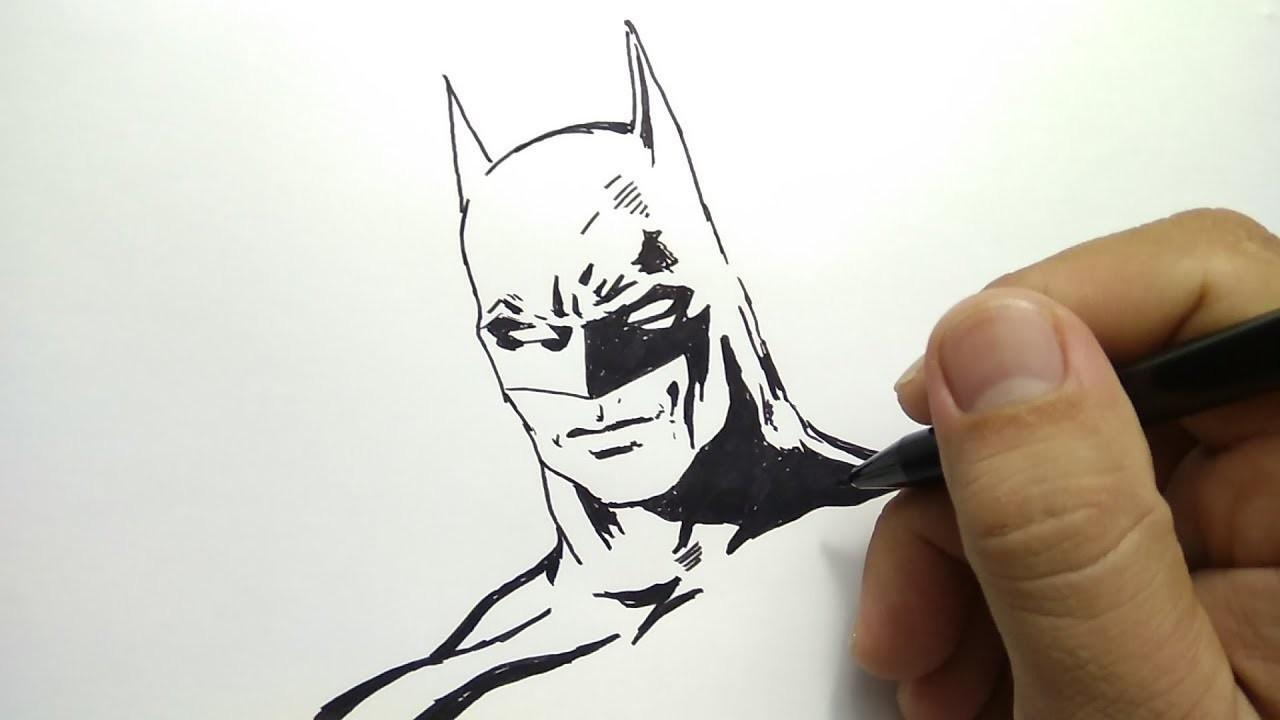 Cara Menggambar Batman How To Draw Batman