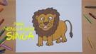 Mari Menggambar - Singa