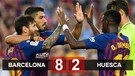 Highlight & Goal - Barcelona 8-2 Huesca - Liga Spanyol - 03 September 2018