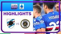 Match Highlights |  Sampdoria 2 vs 1 Spezia | Serie A 2021/2022