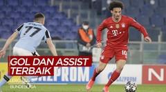 Deretan Gol dan Assist Berkelas dari Pemain Bayern Munchen, Leroy Sane di Bundesliga Musim Ini