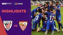 Match Highlight | Athletic 1 vs 2 Sevilla | La Liga 2020
