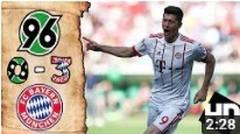 Hannover 96 vs Bayern Munich 0-3