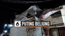 Angin Puting Beliung Rusak Puluhan Rumah Warga Koja