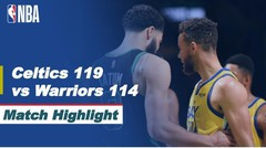 Match Highlight | Boston Celtics 119 vs 114 Golden Stata Warriors | NBA Regular Season 2020/21
