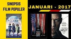 3 FILM TERBAIK BULAN JANUARI 2017