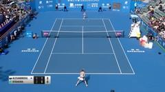 Match Highlight | Ekaterina Alexandrova 2 vs 0 Elena Rybakina | WTA Shenzhen International 2020