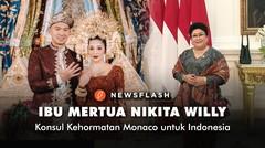 Fakta ibu mertua Nikita Willy, konsul kehormatan Monaco untuk Indonesia