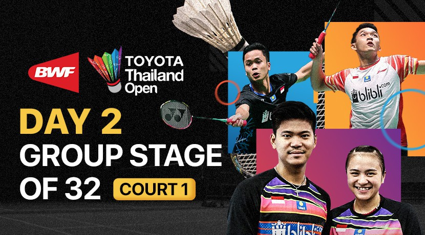 Round 32 TOYOTA Thailand Open - Court 1 cover