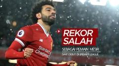 Rekor-Rekor Bintang Liverpool, Mohamed Salah saat Debut di Premier League Sebagai Pemain dari Mesir