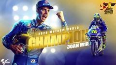 Joan Mir Juara Dunia MotoGP !!