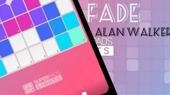 Playing FADE - ALAN WALKER ( Super pads light )