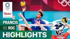 Highlights | Bola Voli Putra | Perebutan Medali Emas - Prancis 3 vs 2 ROC | Olimpiade Tokyo 2020