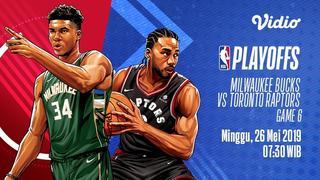 Streaming NBA Playoffs -  Milwaukee Bucks vs Toronto Raptors