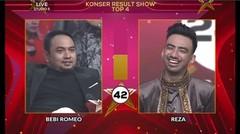 PENILAIAN JURI KEPADA REZA D'STAR TOP-4 RESULT SHOW 2019