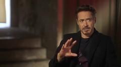 Marvel's Avengers: Age of Ultron: Behind the Scene Movie Broll - Robert Downey Jr., Chris Evans