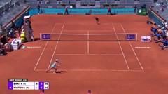 Match Highlights | Ashleigh Barty 2 vs 1 Petra Kvitova | WTA Mutua Madrid Open 2021