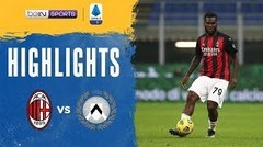 Match Highlights | AC Milan 1 vs 1 Udinese | Serie A 2021