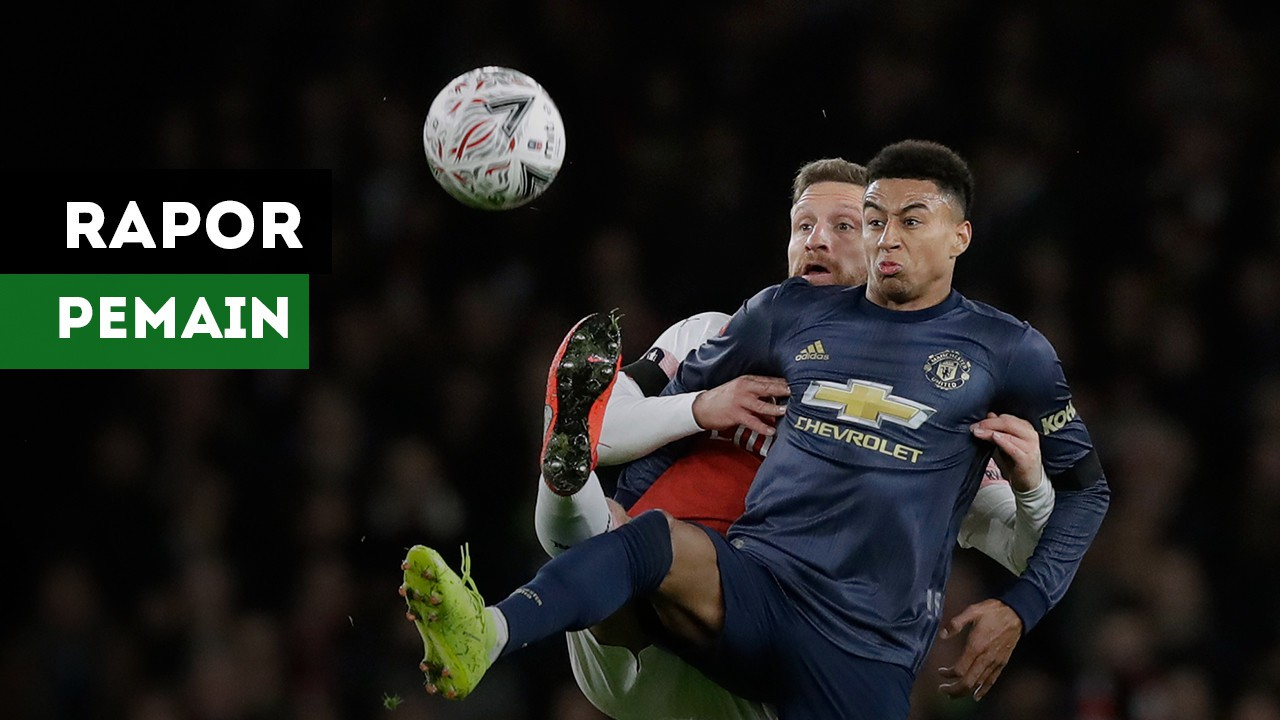 Rapor Para Pemain Manchester United Saat Taklukkan Arsenal