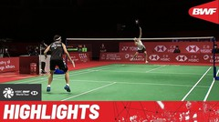 Match Highlight | Tai Tzu Ying (Chinese Taipe) 2 vs 1 Carolina Marin (Spain) | BWF World Tour Finals 2021