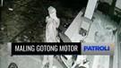 Maling Gotong Motor Terekam CCTV, Pemilik Kendaraan Berjarak Beberapa Meter dari Lokasi Kejadian | Patroli