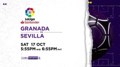 Granada vs Sevilla - Saturday, 17 October 2020 | La Liga Santander